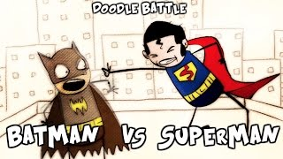 We all know Batman VS Superman is an unfair fight and I think we can all imagine how it could possibly go down. Although I hope to be surprise haha. Here's a quick funny doodle battle between Batman and Superman, Enjoy!PS:This is a Re-upload of my original, I've edited to look and feel better.Don't forget to Favorite, Share, and subscribe to support me and my Cartoons! Subscribe Now - Its Free :Dhttp://www.youtube.com/user/Sparkyn321Follow me on:InstaGram:https://instagram.com/oscar_feliz_cartoons/Google Plus:https://plus.google.com/u/0/b/115437085535008320395/+Sparkyn321/posts?pageId=115437085535008320395Twitter:https://twitter.com/OscarFelizArtMy Website:Oscarfeliz.com