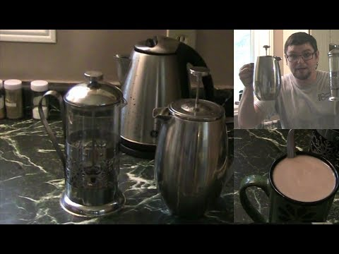 How to Make The Best Coffee in the World at home with a French Press Coffee Maker