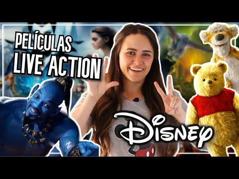 TOP: Películas LIVE-ACTION DISNEY ✨ | ANDRU ★