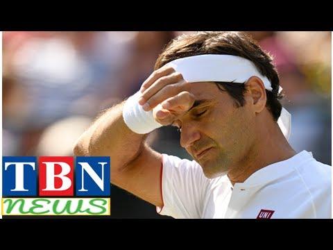 TênisEm jogo histórico, Federer perde e está eliminado de Wimbledon