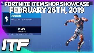 Fortnite Item Shop *NEW* JAMBOREE EMOTE! [February 26th, 2019] (Fortnite Battle Royale)