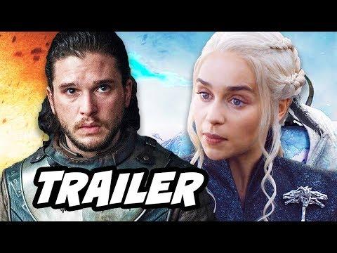 Game Of Thrones Season 7 Episode 7 Finale Trailer Breakdown (видео)
