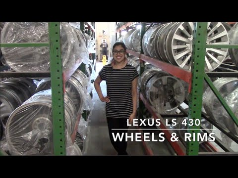 Factory Original Lexus LS 430 Wheels & Lexus LS 430 Rims – OriginalWheels.com