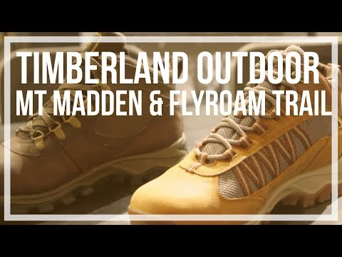 Timberland | Mt Maddsen Lite Mid Waterproof and Flyroam Trail Outdoor Hiking Shoes