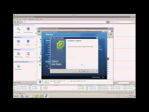 ¿Cómo instalar ESXi en memoria con VMware Auto Deploy? Parte I