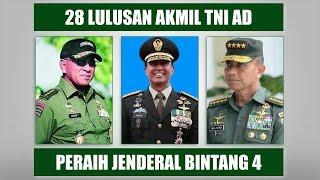 Video 28 Lulusan Akmil TNI Angkatan Darat Peraih Pangkat Jenderal Bintang 4 MP3, 3GP, MP4, WEBM, AVI, FLV Juni 2019