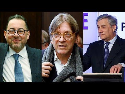 Ευρωπαϊκό Κοινοβούλιο: Οι βασικοί βασικοί διεκδικητές της θέσης του προέδρου