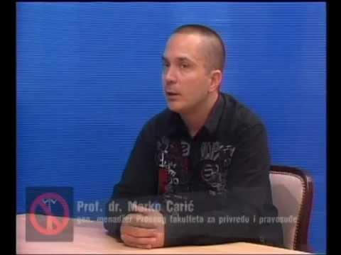 Razgovor sa povodom - Pravni fakultet - 01.07.2013