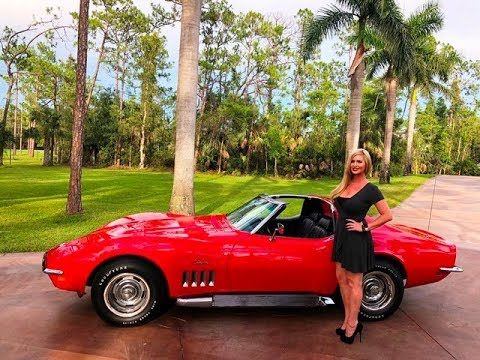 For Sale: 1969 Corvette Stingray Coupe Fully Restored - review w/MaryAnn @AutoHausNaples
