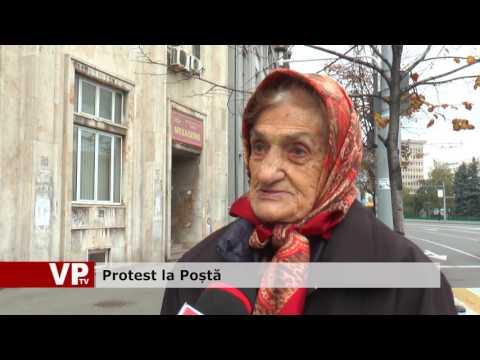 Protest la Poștă