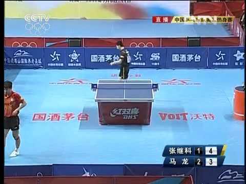 2012 China Warm-up Matches for Olympics: ZHANG Jike - MA Long [Full Match/Chinese]