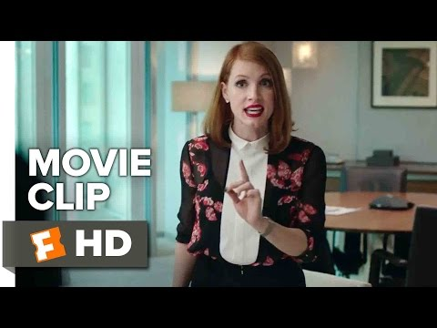 Miss Sloane Movie CLIP - I Don't Remember You Caring (2016) - Jessica Chastain Movie