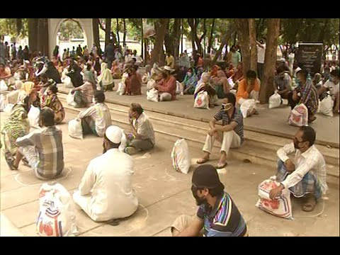 রাজধানীতে ছিন্নমূল মানুষের সহায়তায় নগরবাসী | ETV News