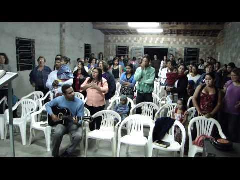 Era um pecador - Pastor Toni na inauguração em Massaranduba - parte 1/2