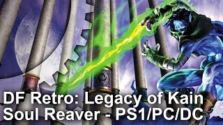 One of the greatest titles available on the original PlayStation, Soul Reaver's 3D 'Metroidvania' gameplay pushed the system to its limits. John presents the history behind the game, examines the core technology, analyses performance and checks out the PC and Dreamcast ports.Many thanks to Ben Lincoln and 'Mama Robotnik' for their assistance in making this episode.Subscribe for more Digital Foundry: http://bit.ly/DFSubscribe