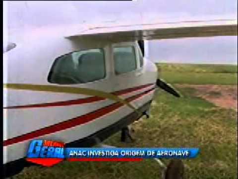 ANAC investiga origem de aeronave apreendida em Igaraçu do Tietê