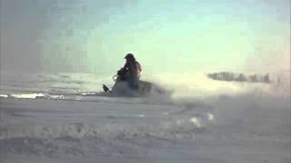 6. 2008 Yamaha Phazer MTX Carving In Slow Motion