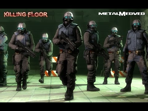 Солдаты Альянса в Killing Floor MetalMedved