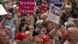 Repealing and replacing Obamacare was one of President Trump's key campaign promises. So was bringing back jobs. On Wednesday, Mr. Trump announced the electronics giant Foxconn will build a factory in Wisconsin, expected to create 3,000 jobs. Dean Reynolds caught up with Trump supporters in Ohio.