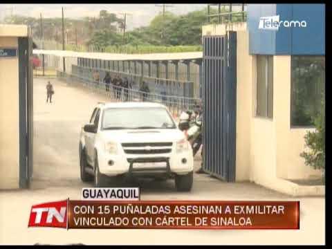 Con 15 puñaladas asesinan a ex militar vinculado con cártel de Sinaloa