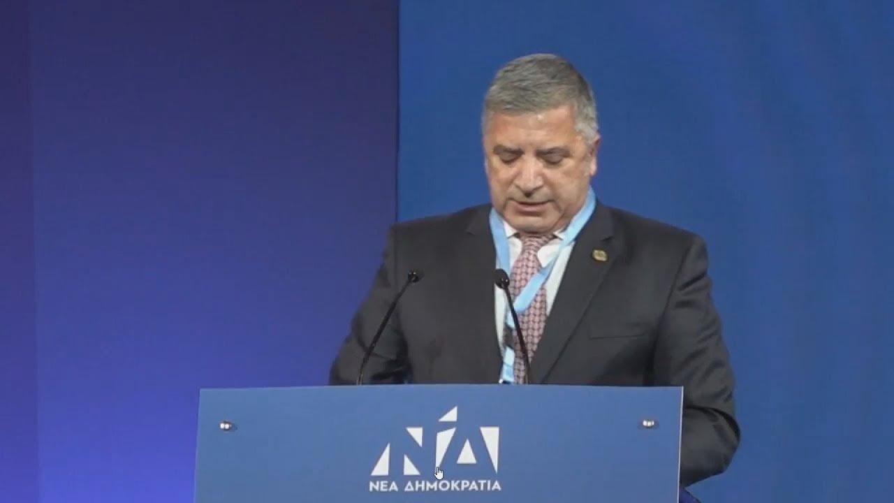 Απόσπασμα ομιλίας του υποψήφιου περιφερειάρχη Αττικής Γ. Πατούλη στο 12ο Συνέδριο ΝΔ