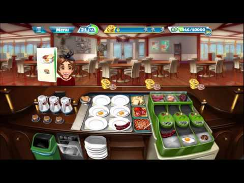 Cooking Fever: Breakfast Cafe Levels 31-32 + Purchase Cooking Machine