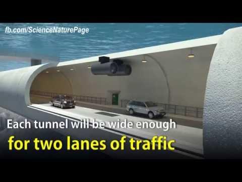 Проект плавающего тоннеля через фьорд в Норвегии - Центр транспортных стратегий