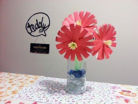 come fare un fiore con dei bicchieri