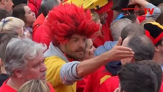 Video Belgium fans rue missed chances and frustrated by France defeat MP3, 3GP, MP4, WEBM, AVI, FLV Desember 2018