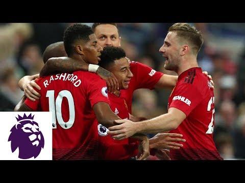 Video: Paul Pogba finds Marcus Rashford for Man United goal v. Tottenham | Premier League | NBC Sports