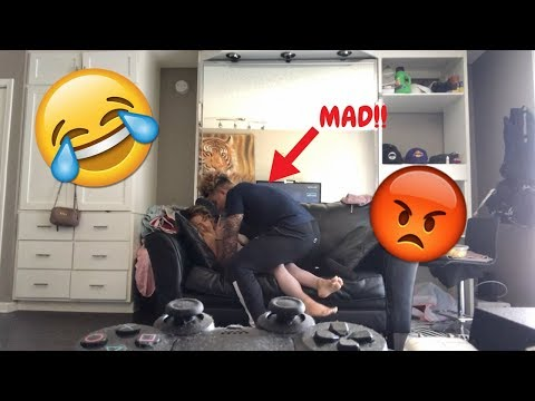 IGNORING MY BOYFRIEND! ** HE GETS VERY MAD**