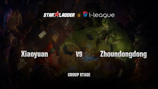 Zhoundongdong vs Xiaoyuan, game 1
