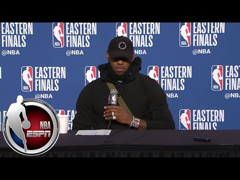 [FULL] LeBron James after Game 4: There's a lot more to my story that you don't know | NBA on ESPN