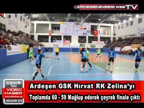 Ardeşen GSK Rakibini Eleyerek Çeyrek Finale Yükseldi