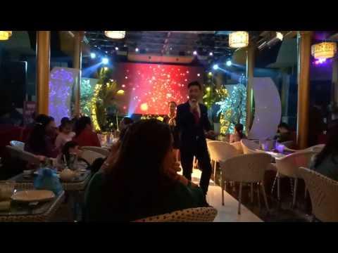 ca sĩ Tạ Đình Nguyên Thần Tượng Bolero hát tại đám cưới cực ngọt ngào
