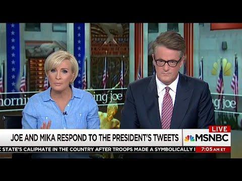 Oι παρουσιαστές του «Morning Joe» απαντούν στον Τραμπ
