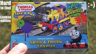Special Edition Thomas the Tank Engine Take N Play - Spills & Thrills