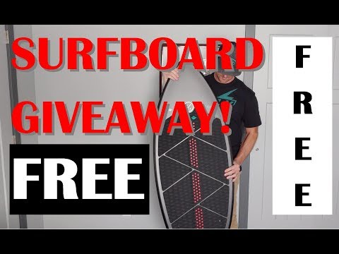 SURFBOARD GIVEAWAY!  Season 2 Episode 8