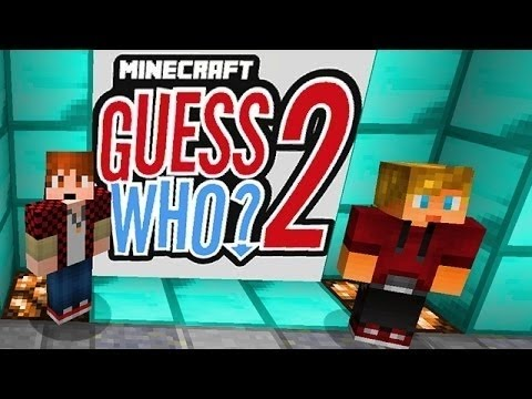 Minecraft: Funny Guess Who 2.0! Mini-Game w/Mitch & Lachlan! (Ep. 5)