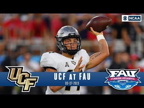 Video: Freshman Gabriel Leads No. 18 UCF Past FAU 48-14   NCAA FB Recap   CBS Sports
