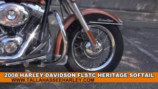 4. Used 2008 Harley Davidson Heritage Softail Classic 105th Anniversary Motorcycle for sale