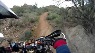 6. KTM525 EXC W/Rekluse, First Ride: Single Track
