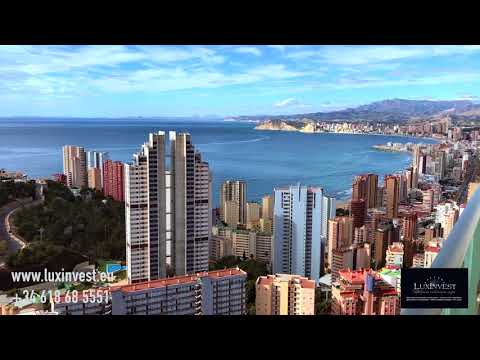 Exclusive apartments in Benidorm! 30th floor - a stunning view of the sea!
