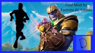Thanos fortnite default dance