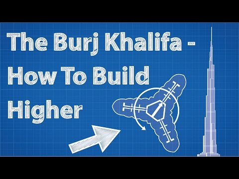 How Super Tall Buildings Like the Burj Khalifa Reach Such Great