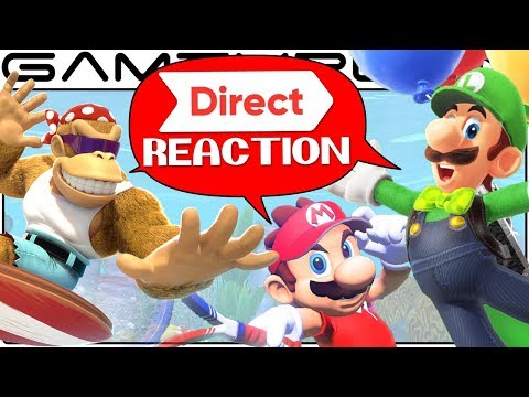 Nintendo Direct Reaction Discussion: Mario Tennis Aces, Funky Kong, Odyssey Luigi DLC, TWEWY