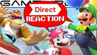 Nintendo Direct Reaction Discussion: Mario Tennis Aces, Funky Kong, Odyssey Luigi DLC, TWEWY