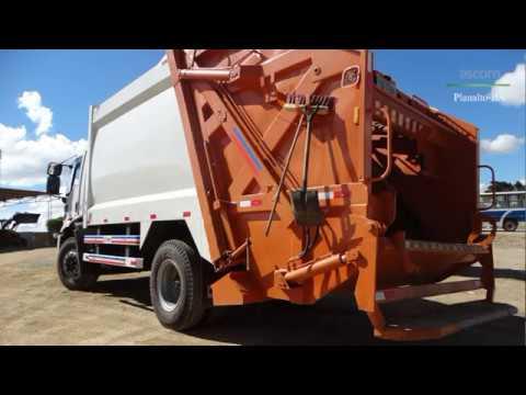 A coleta de lixo em Planalto