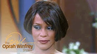 Oprah's Question That Brought Whitney Houston to Tears | The Oprah Winfrey Show | OWN