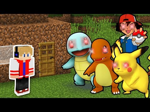 DESAFIO DA BASE VS CREEPYPASTA POKEMON NO MINECRAFT ! SOBREVIVI AOS POKEMONS AMALDIÇOADOS ?